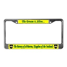 al-Barran populace License Plate Frame