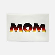 Great Gift: A MOM Rectangle Magnet