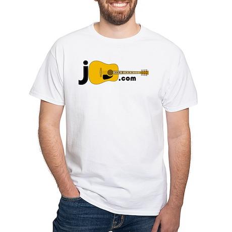 JGuitar.com 2-sided T-Shirt (white)