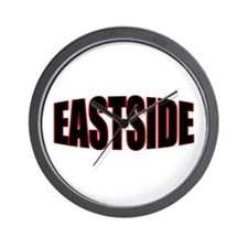 """EASTSIDE"" Wall Clock"