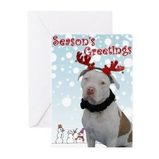 Pit Bull Holiday Greeting Cards (Pk of 20)
