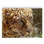 2 Leopards Wall Calendar