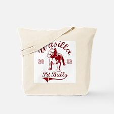 Wasilla Pitbulls Tote Bag
