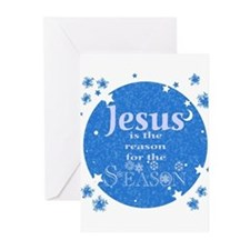 Jesus is the reason Greeting Cards (Pk of 10)