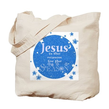 Jesus is the reason Tote Bag