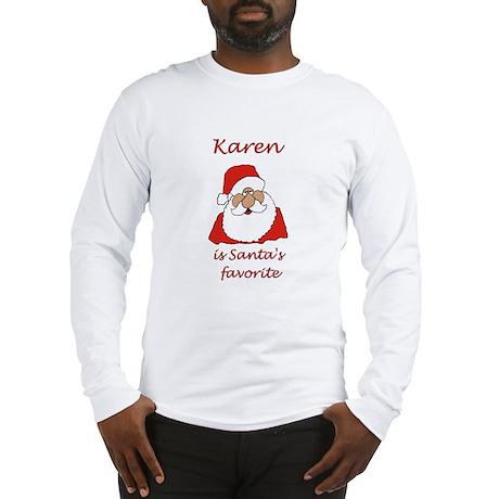 Karen Christmas Long Sleeve T-Shirt