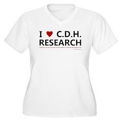 I Love C.D.H. Research T-Shirt