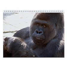 Gorilla Wall Calendar