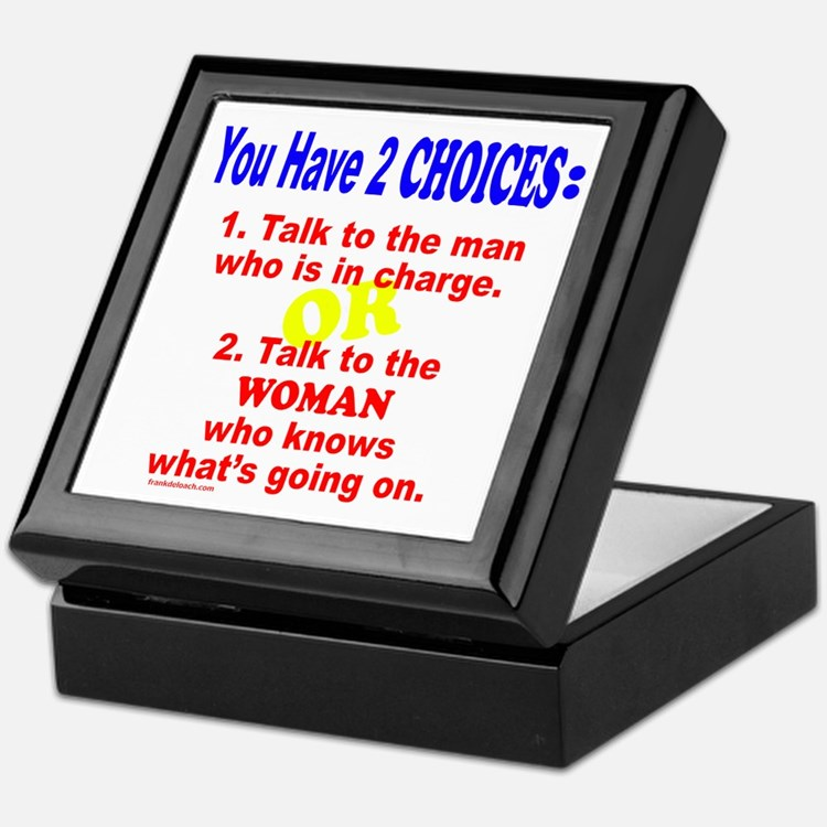 WORK/JOB HUMOR Keepsake Box