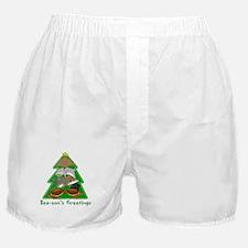 Sea-son's Greetings Boxer Shorts