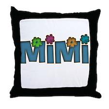 Former Flower Child MiMi Throw Pillow