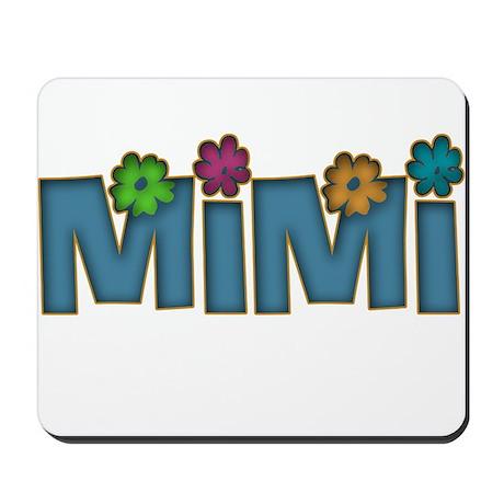 Former Flower Child MiMi Mousepad