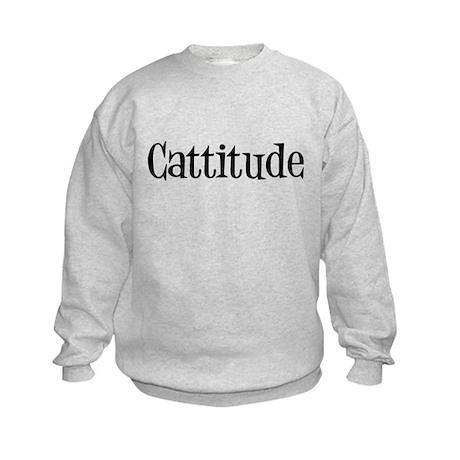 Cattitude Kids Sweatshirt