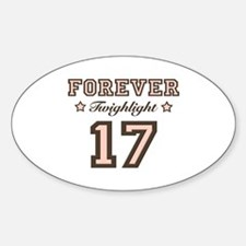 Forever Twilight 17 Oval Decal
