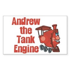 Andrew the Tank Engine Rectangle Decal