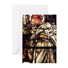 Blank Tiffany Angel Greeting Cards (Pk of 10)
