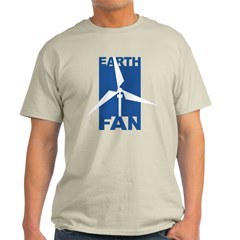 Earth Fan Environmental Quote T-Shirt