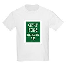Twilight Forks Sign T-Shirt