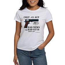 Colt 1911 Women's White T-Shirt