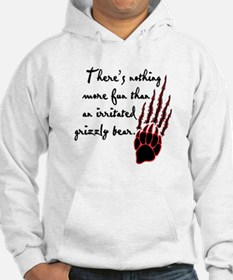 Twilight Irritated Grizzly Bear Hoodie