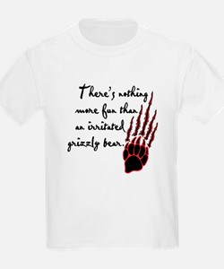 Twilight Irritated Grizzly Bear T-Shirt