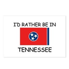 I'd rather be in Tennessee Postcards (Package of 8