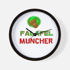 Falafel Muncher Wall Clock