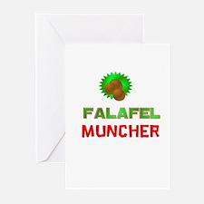 Falafel Muncher Greeting Cards (Pk of 10)