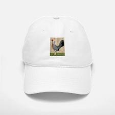 Grey Game Hen Cap
