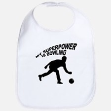 My Superpower is Bowling Bib