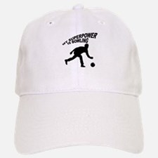 My Superpower is Bowling Baseball Baseball Cap