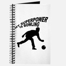 My Superpower is Bowling Journal