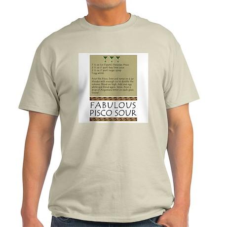 Pisco Sour Ash Grey T-Shirt