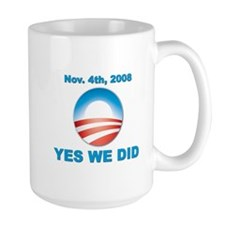 Obama - Yes We Did Mug