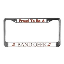Cute Bassoon License Plate Frame