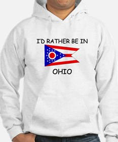 I'd rather be in Ohio Hoodie