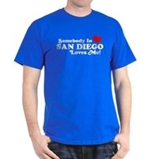 Somebody In San Diego Loves Me T-Shirt