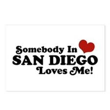 Somebody In San Diego Loves Me Postcards (Package