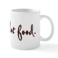 I Am Not Food Twilight Mug