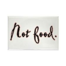 I Am Not Food Twilight Rectangle Magnet
