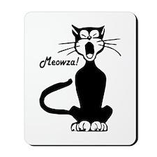 Meowza! 1950's Cartoon Cat Mousepad