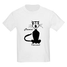 Meowza! 1950's Cartoon Cat T-Shirt