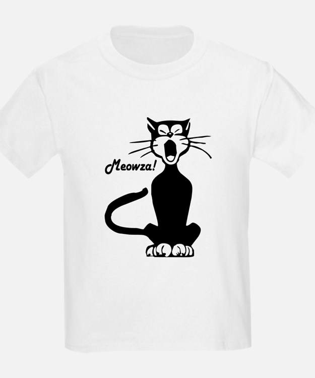 Meowza! 1950's Cartoon Cat T-Shirt