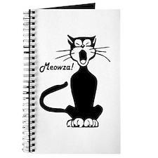 Meowza! 1950's Cartoon Cat Journal