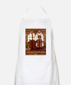 Girls Just Want to Have Fun! BBQ Apron