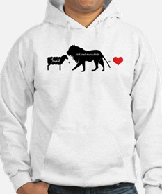 Lion Fell in Love with the Lamb Hoodie