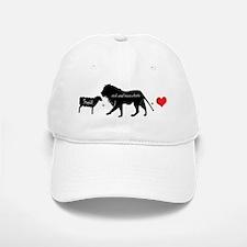 Lion Fell in Love with the Lamb Baseball Baseball Cap