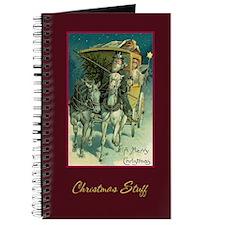 Santa's Christmas Stuff Journal