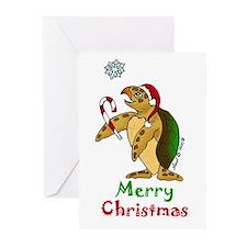 Sea Turtle Christmas Greeting Cards (Pk of 20)
