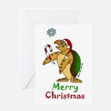 Sea Turtle Christmas Greeting Card